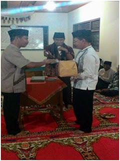 TSR 20 Padangpariaman Kunjungi Surau Tangah Padang Bintungan