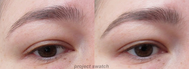 Browlash Ex Water Strong W Eyebrow  - applied