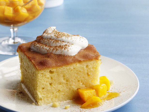 My Favorite Things: Tres Leches Cake with Mango