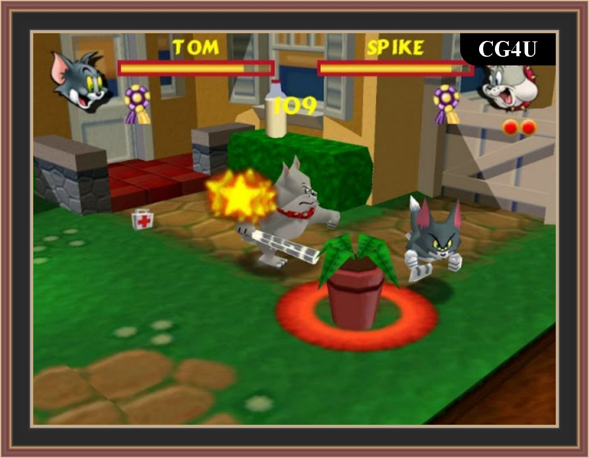 Tom And Jerry in Fists Of Furry Pc Game ScreenShot
