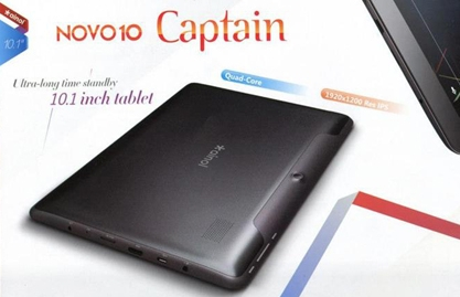 spesifikasi lengkap tablet Ainol Novo 10 Captain, harga baru Ainol Novo 10 Captain, tablet pc android murah berkualitas, gambar dan review Ainol Novo 10 Captain