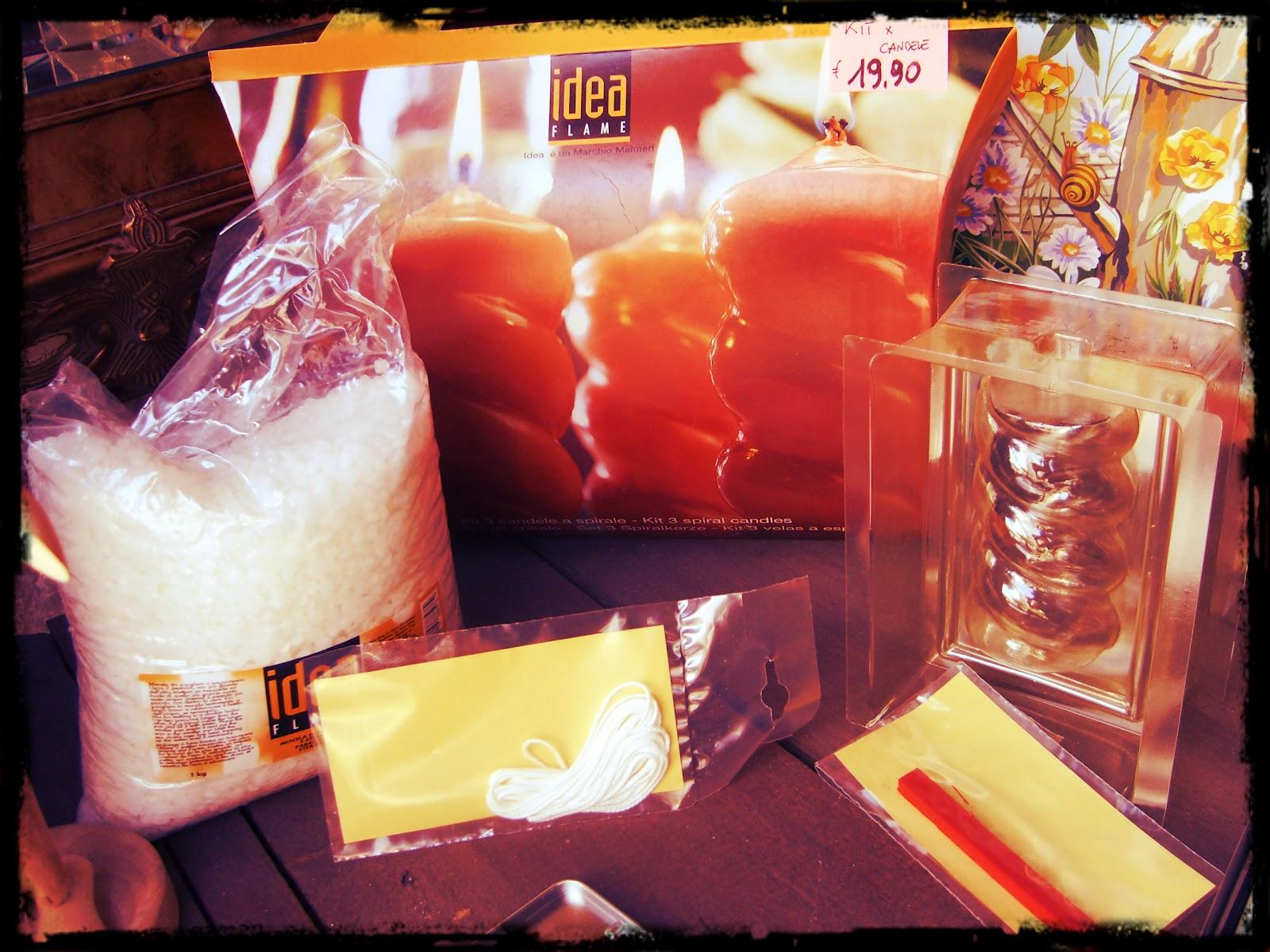 Art store d 39 ambrosio belle arti trani kit per candele - Candele fatte in casa ...