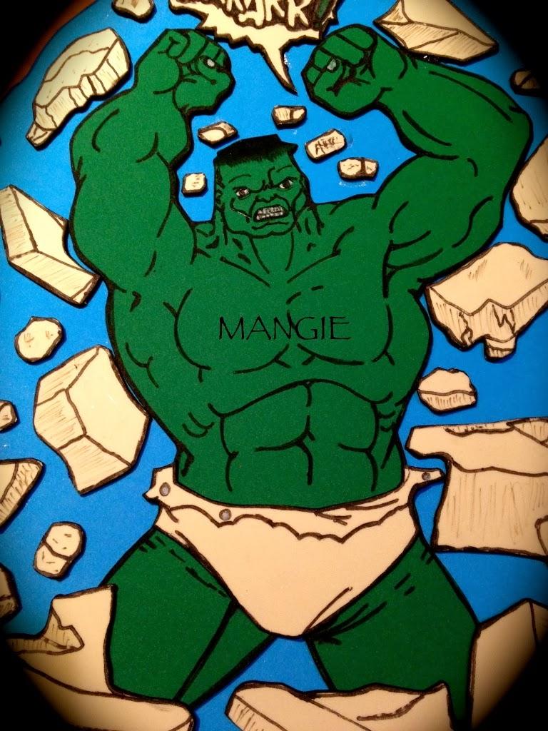 Hulk en goma eva