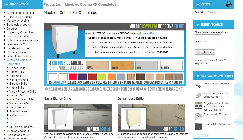 for Muebles de cocina kit completos