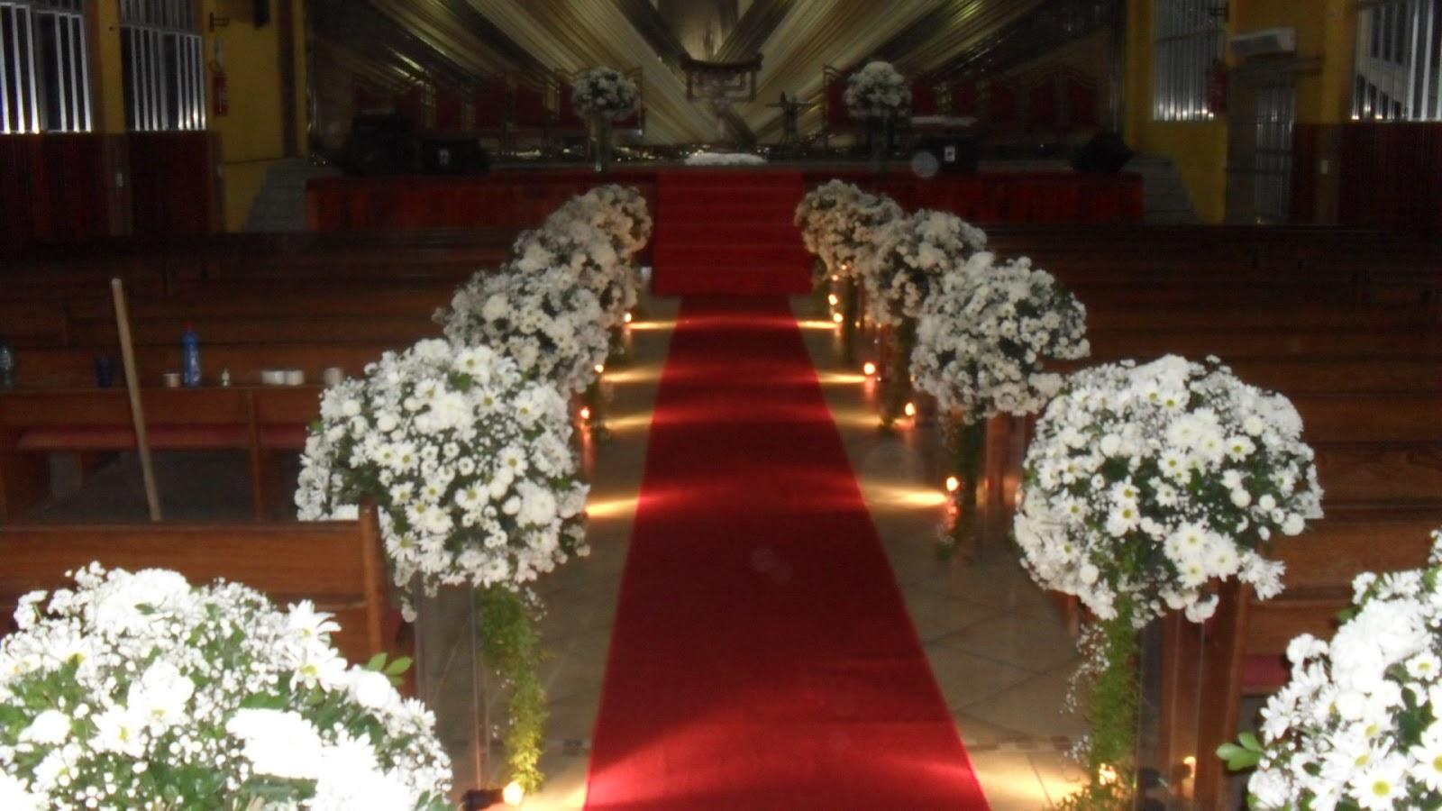 Com Flores Do Campo Decoração De Casamento