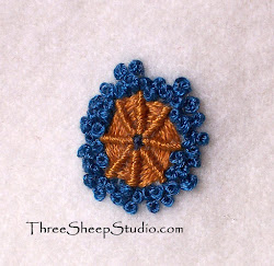 How To - Spiderweb Embroidery Stitch...