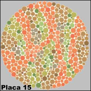 Teste de Ishihara - Placa número 15