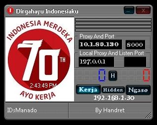 Inject Indosat Dirgahayu Indonesiaku 17 Agustus 2015