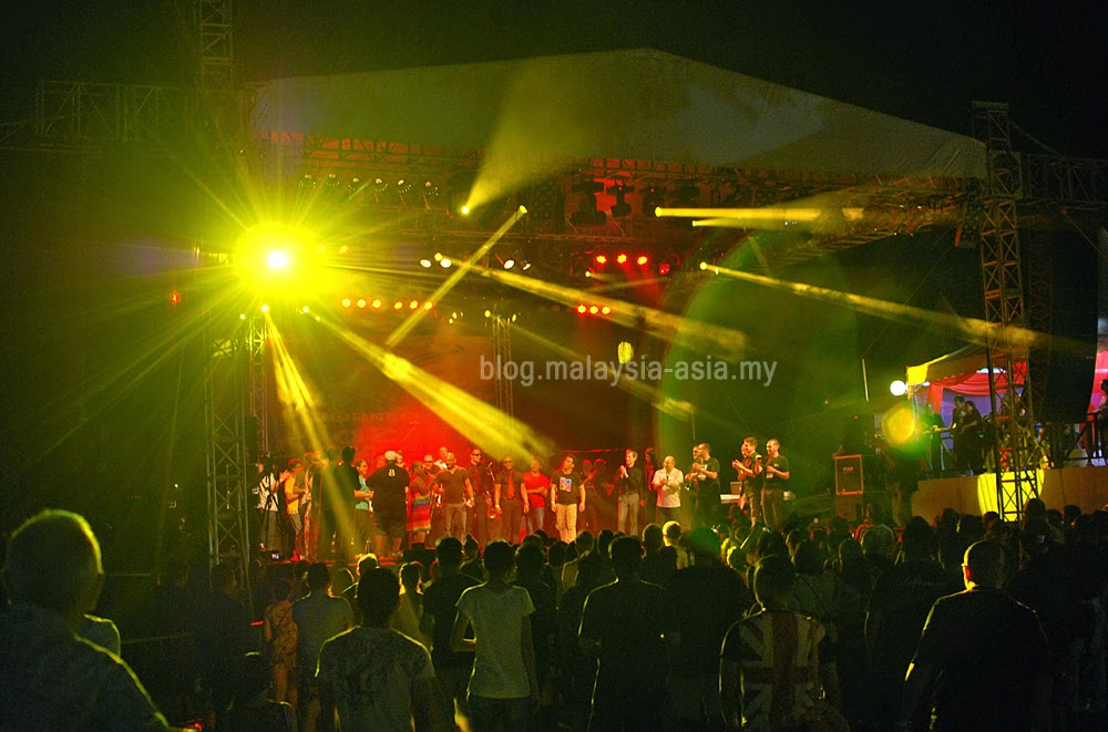 finale of the Borneo Jazz Festival 2014