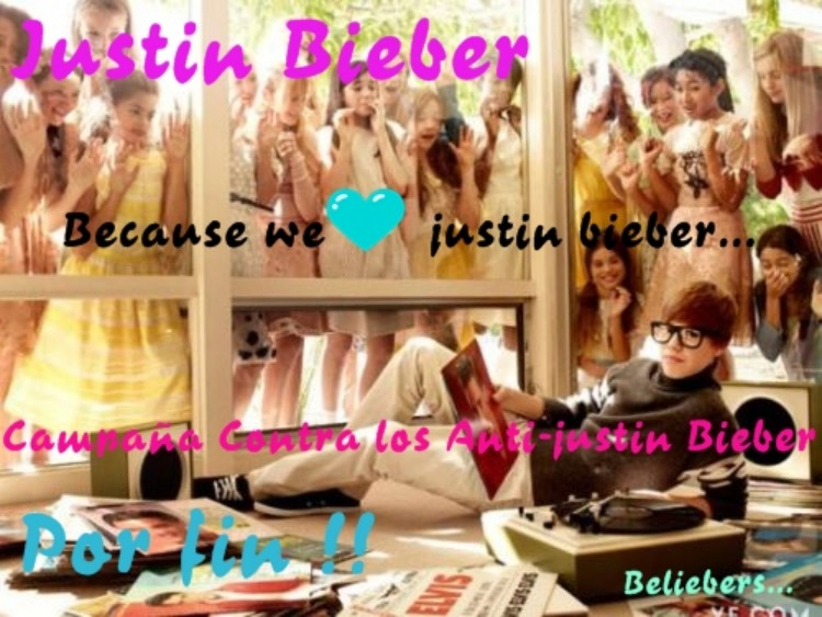 Campaña Justin Bieber