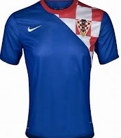 Euro 2012 Croatia Away Jersey