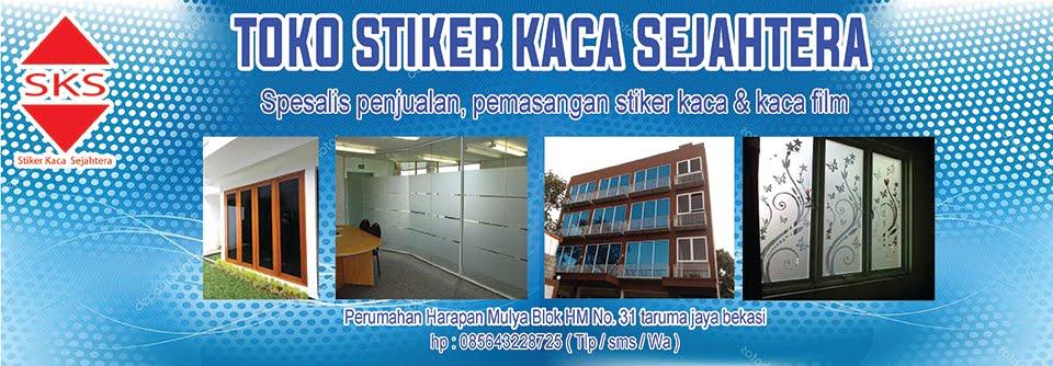 STIKER KACA