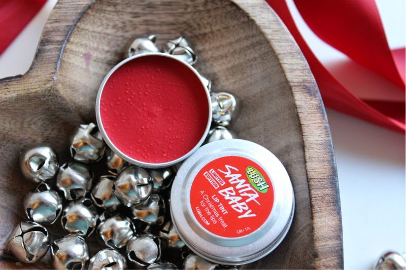 Lush Santa Lip Products for Christmas 2014