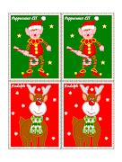 Imagens natalinas para etiquetas