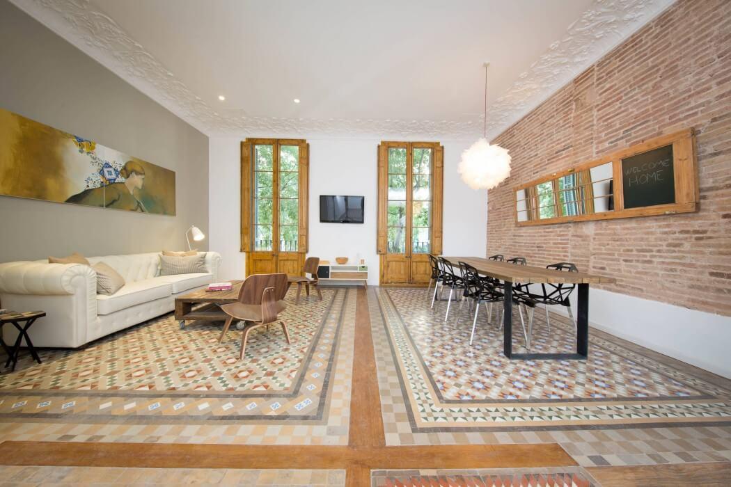 Moderno vintage industrial y retro interior ecl ctico for Casas modernas vintage