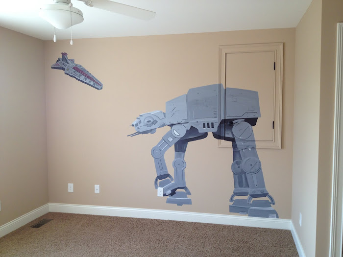 Ken's Star Wars inspired Room