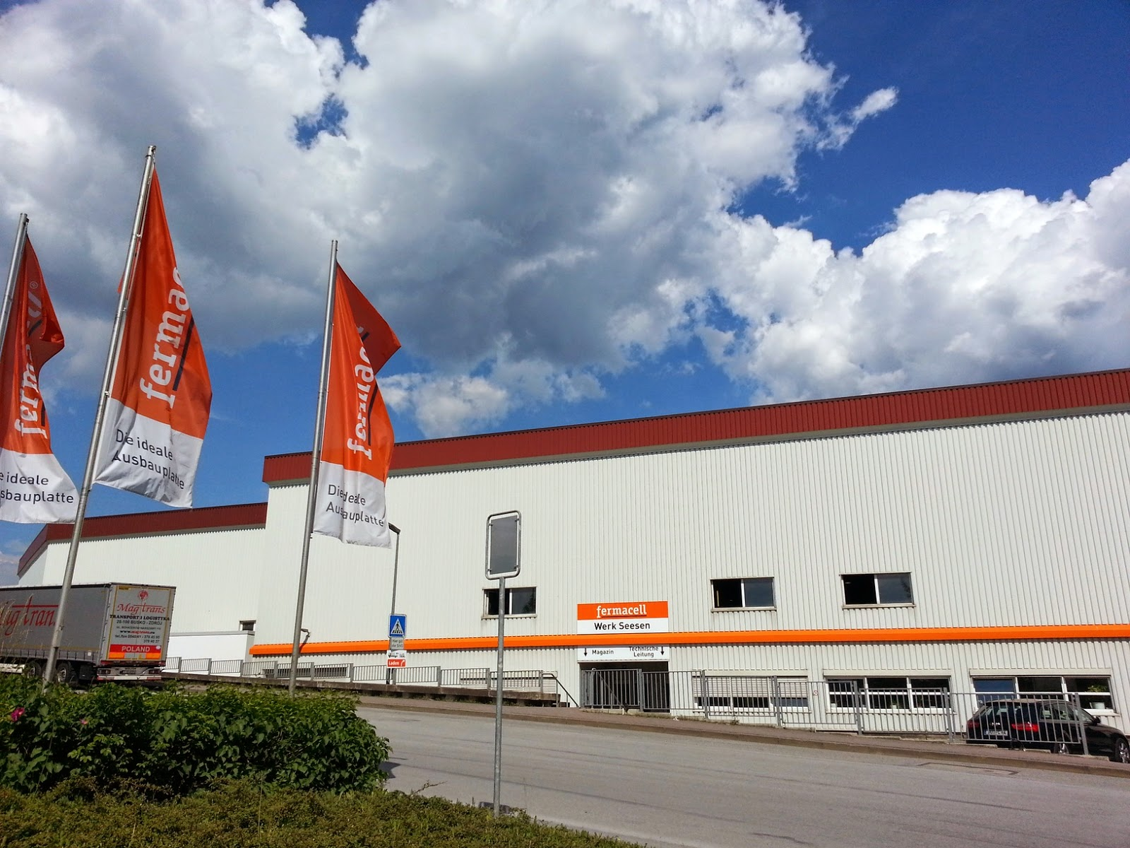 Fabryka płyt gipsowo-włóknowych Fermacell w Bad Grund