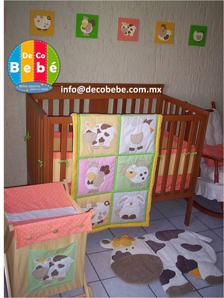 Deco bebe edredones para cuna m xico edredones para cunas for Accesorios habitacion bebe