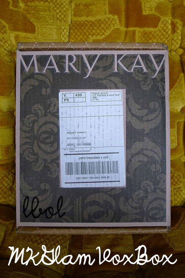 Influenster Mary Kay MKGlam Sun-Kissed VoxBox