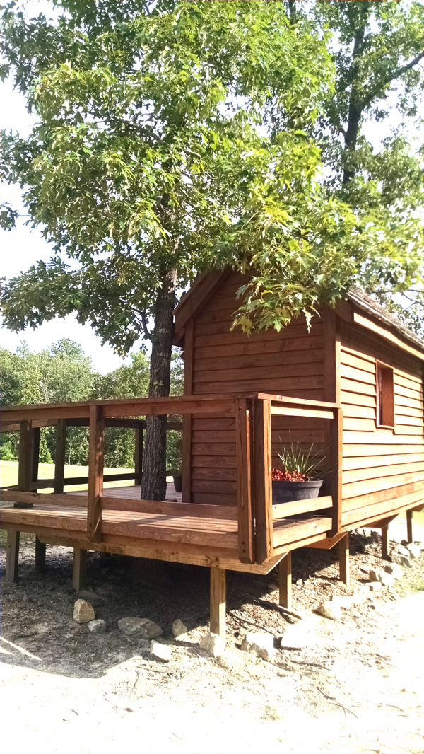 a built from scratch tree house for Madison