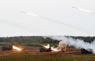 Taiwan's Military Flexes its Muscles