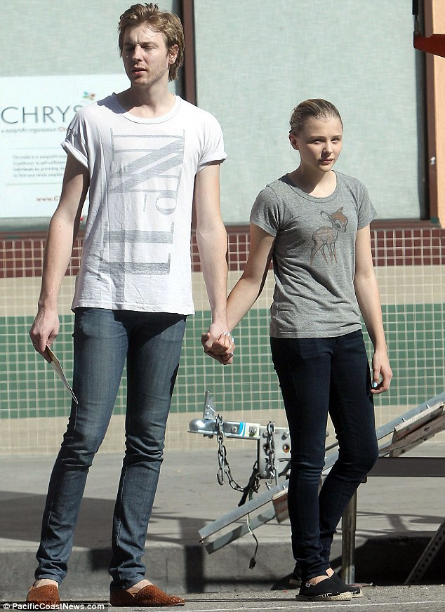 Colin Ford And Chloe Moretz