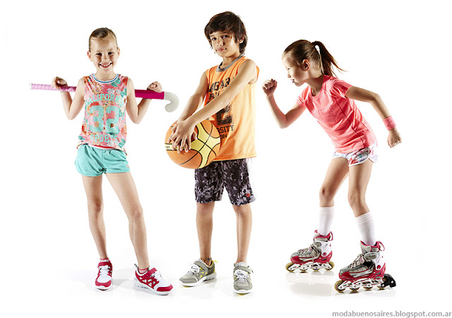 Moda verano 2016 ropa de deportiva para niños y niñas Fly Sports by Cheeky. Moda verano 2016.