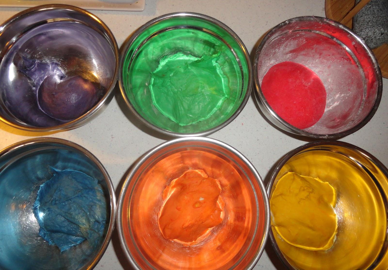 Как сделать пищевой краситель в домашних условиях синий