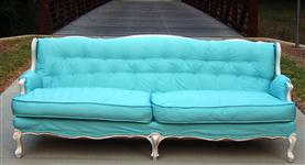 Inventory Feature: Tiffany Blue Sofa