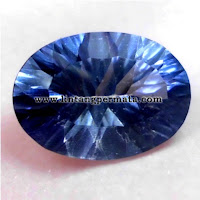 Batu Permata Natural Blue Quartz
