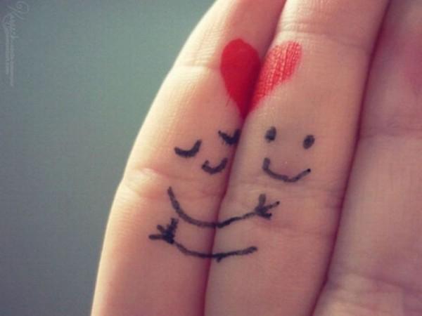 curiosidades y mas...: dedos enamorados y graciosos :