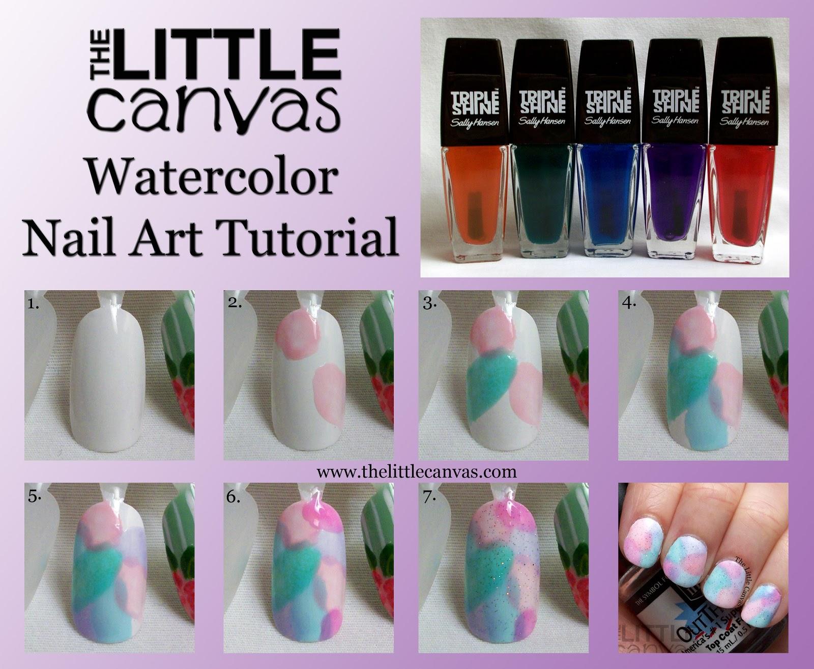 Nail polish art canvas papillon day spa nail polish art canvas solutioingenieria Gallery