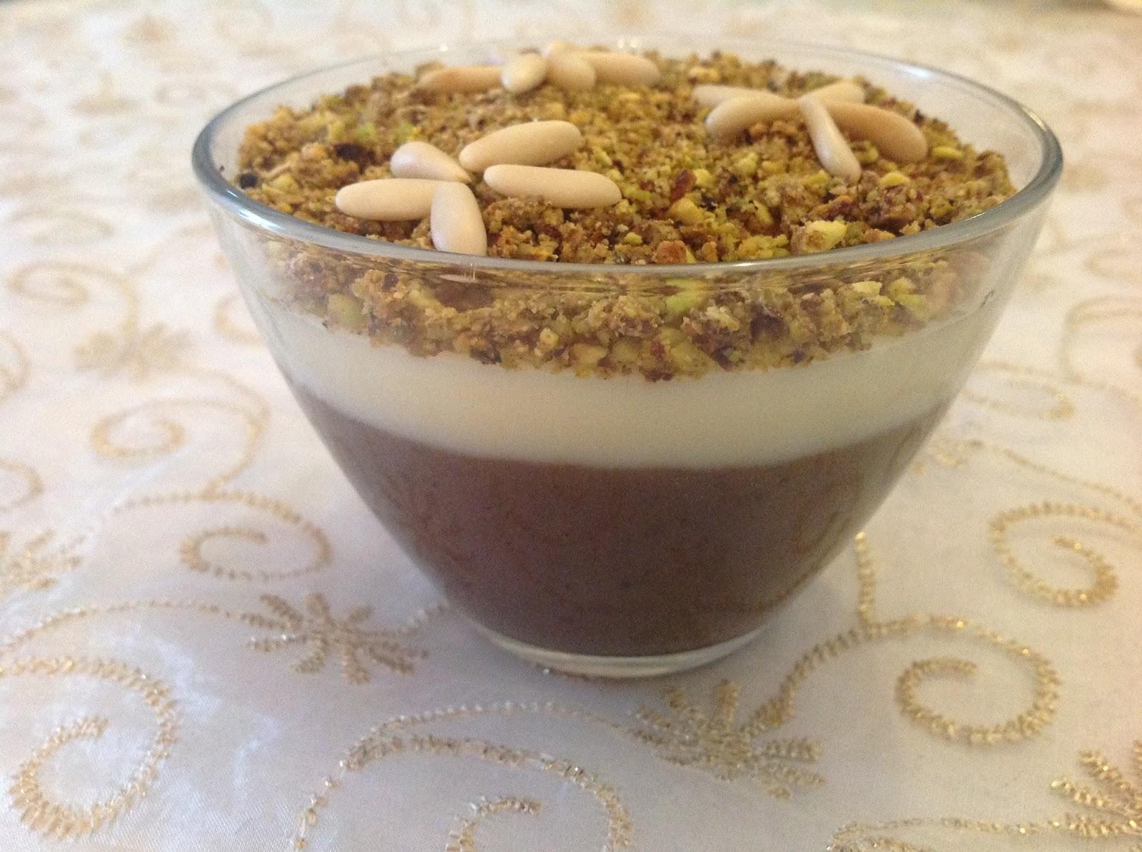 Cr me aux graines de pin d 39 alep mes recettes r ussies for Recette assida zgougou