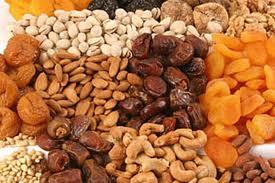 alimentos altos en fibras