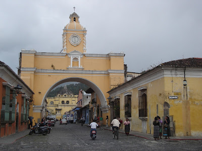 Antigua old city streets