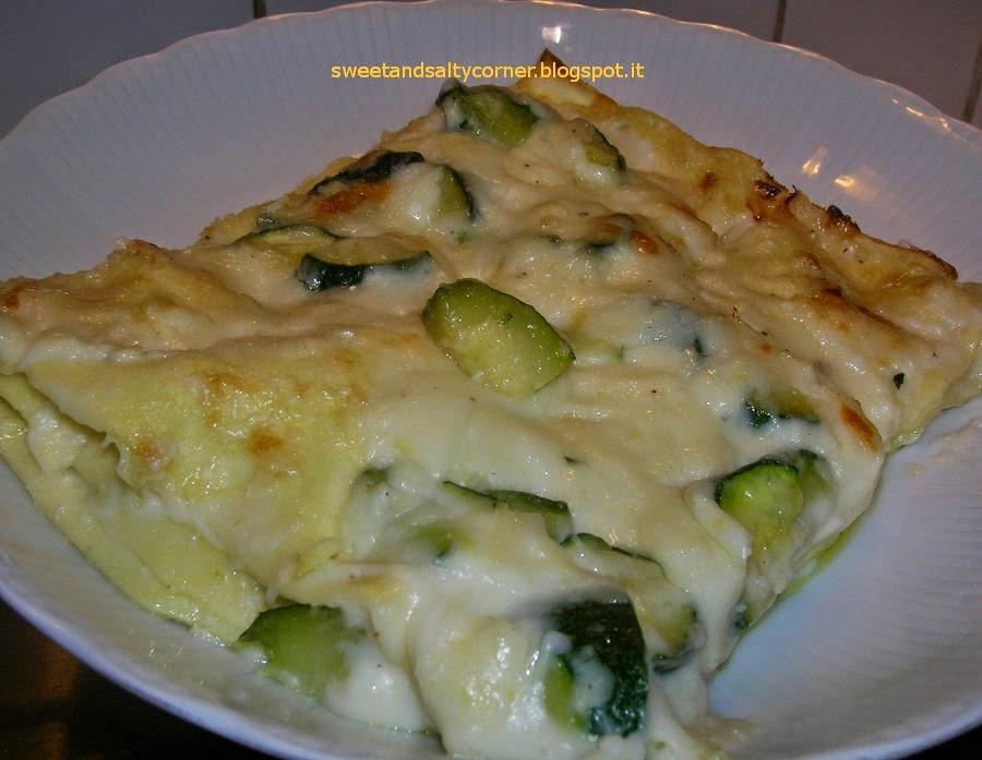 lasagne agli zucchini