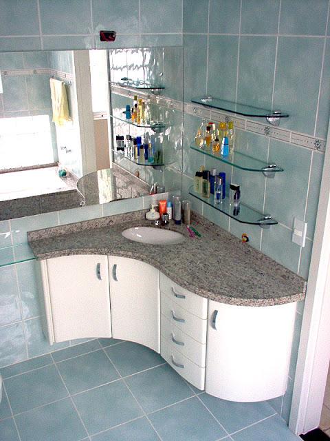 Marcenaria Pratica Armários para banheiro  Personalizados -> Armario Banheiro Curitiba