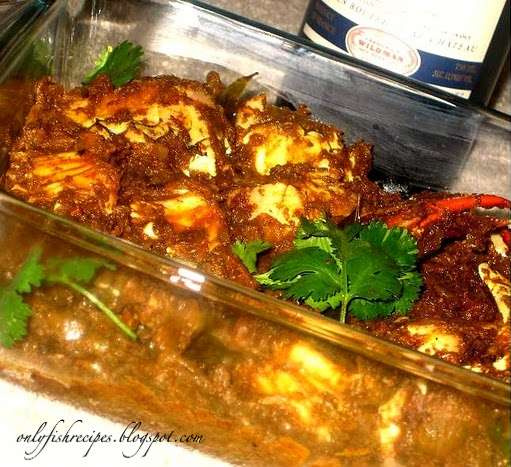 crab chettinad masala
