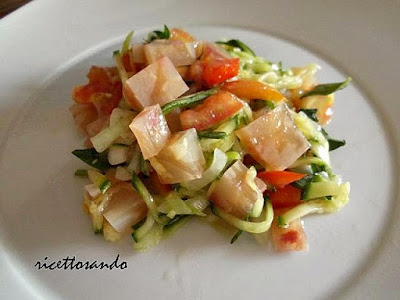 ricetta di  Nervetti con verdure