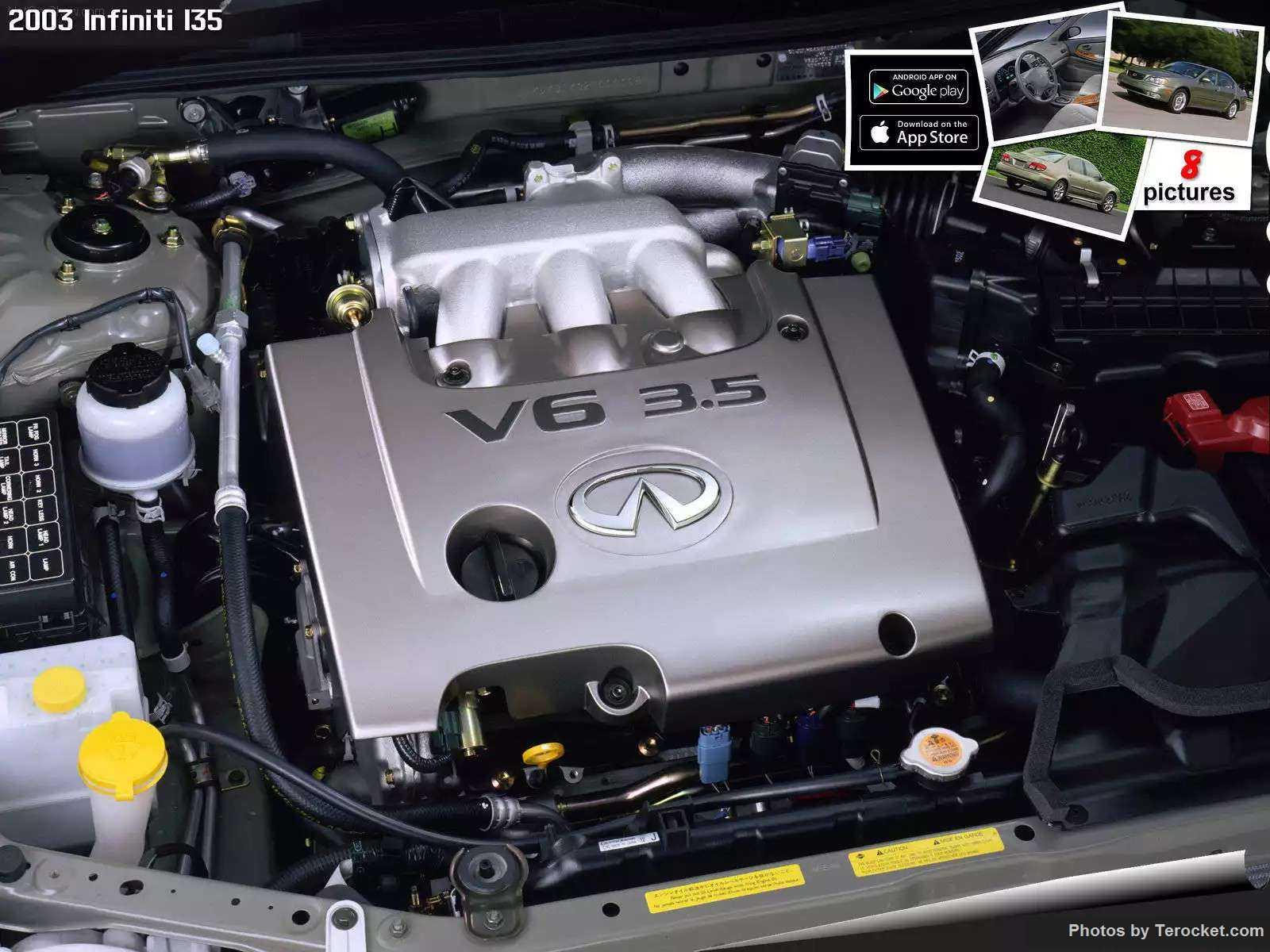 Hình ảnh xe ô tô Infiniti I35 2003 & nội ngoại thất
