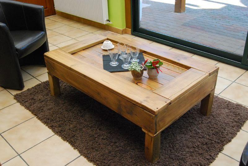 for Fabriquer sa table de salon