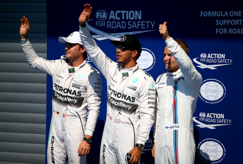 Fórmula 1: Lewis Hamilton logró la pole position en el Gran Premio de Bélgica