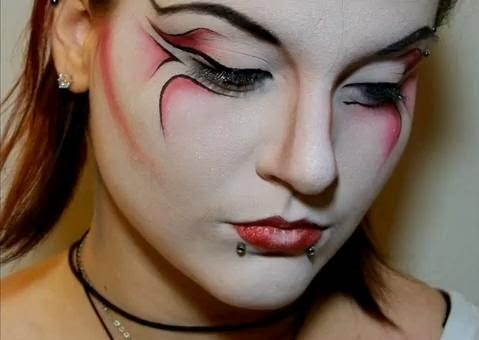 moda y maquillaje de los años 80