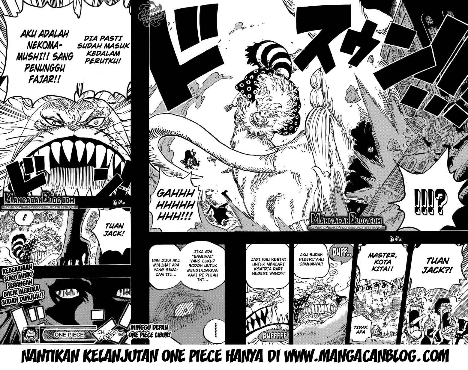 Dilarang COPAS - situs resmi www.mangacanblog.com - Komik one piece 809 - master nekomamushi 810 Indonesia one piece 809 - master nekomamushi Terbaru 19|Baca Manga Komik Indonesia|Mangacan