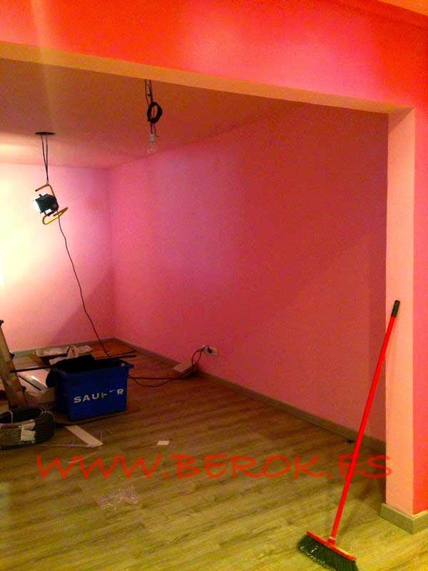 habitación antes de ser decorada
