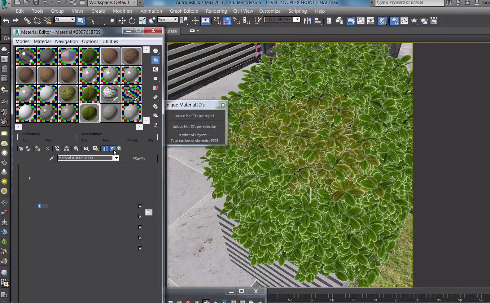 Realistic Vegetation with Unique Materials ID for 3ds Max | CG TUTORIAL