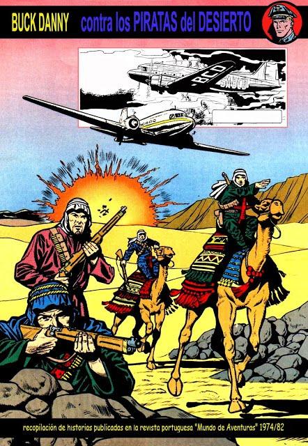 Buck Danny 08. Os Piratas do Deserto / Los Piratas del Desierto MA. Compilações de ASantos