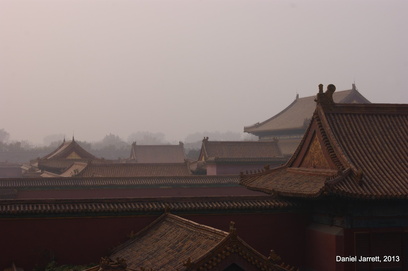 Forbidden City Rooves