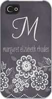 Tiny Prints chalkboard_blossoms-personalized_iphone_cases-sarah_hawkins_designs-charcoal-gray Etsy stalkers