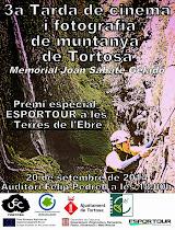3a Tarda de Cinema i Fotografia de Muntanya de Tortosa